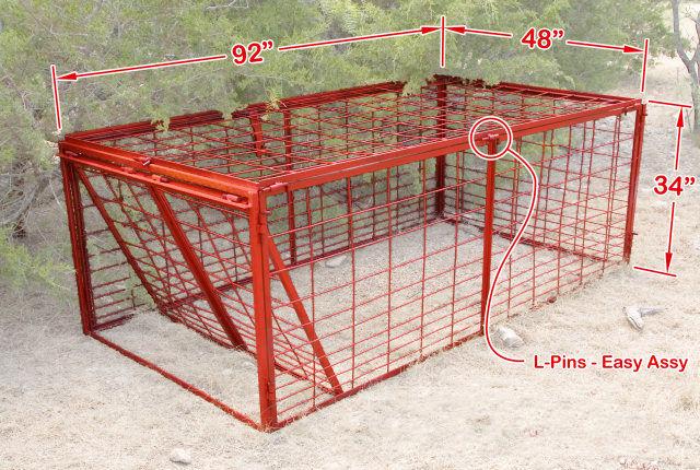 about our wild hog traps wild hog